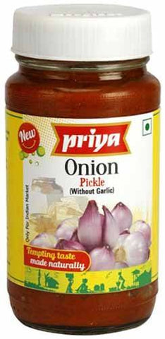 Priya Onion Pickle 300gm - SabAdda - Asian Grocery Store