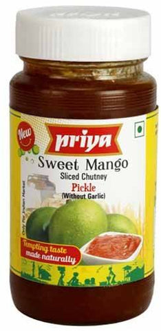 Priya Sweet Mango Chuttney New 300gm - SabAdda - Asian Grocery Store