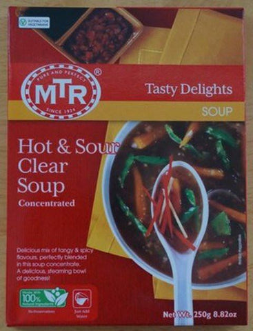MTR Hot & Sour Clear Soup 250 gm - Sabadda - Indian Online Grocery Store in UK