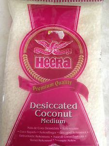 Heera Coconut Desicated Medium 300gmm - SabAdda - Asian Grocery Store