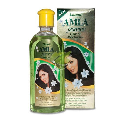 Dabur Amla Jasmine Hair Oil 200 ml - Sabadda - Indian Online Grocery Store in UK