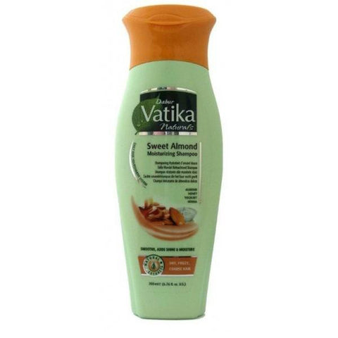 Vatika Naturals Sweet Almond Moisturizing Shampoo 200 ml - Sabadda - Indian Online Grocery Store in UK