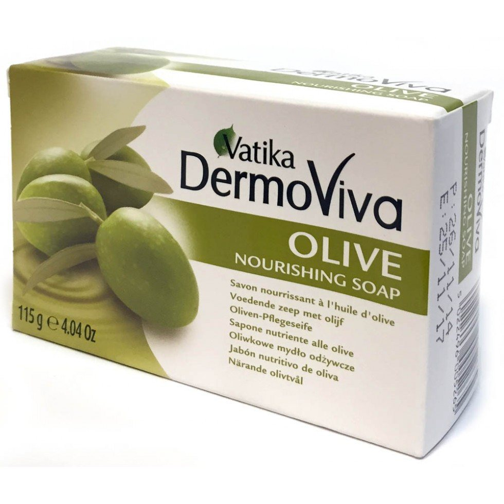 Vatika Dermoviva Olive Nourishing Soap 115 gm - Sabadda - Indian Online Grocery Store in UK