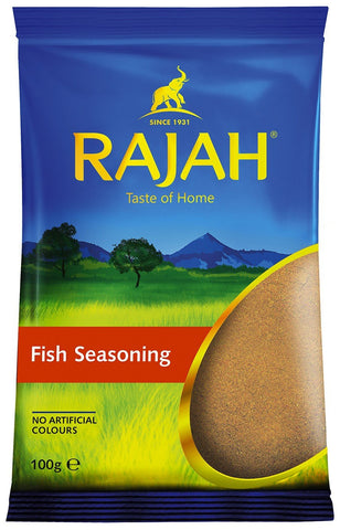 Rajah Fish Seasoning 100 gm - Sabadda - Indian Online Grocery Store in UK