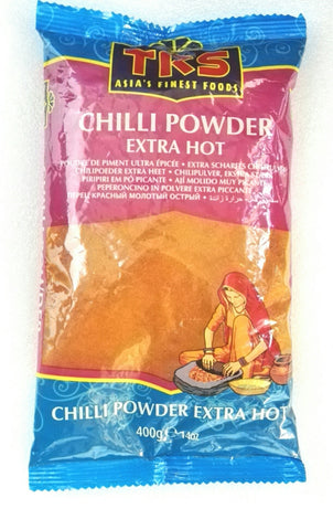 TRS Chilli Powder Extra Hot 400 gm - Sabadda - Indian Online Grocery Store in UK