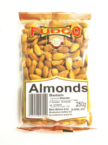 Fudco Almonds 250 gm - Sabadda - Indian Online Grocery Store in UK
