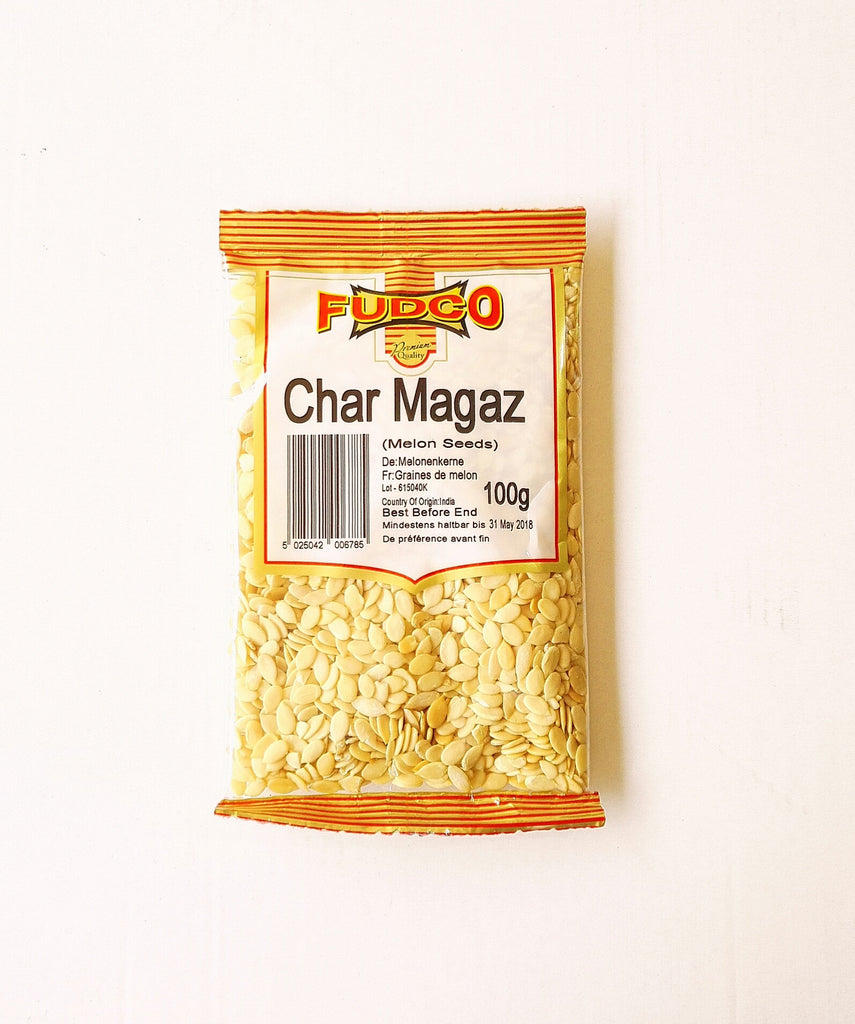 Fudco Char Magaz Melon Seeds 100 gm - Sabadda - Indian Online Grocery Store in UK