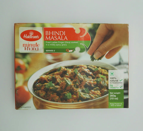 Haldiram's Bhindi Masala 283gm - Sabadda - Indian Online Grocery Store in UK