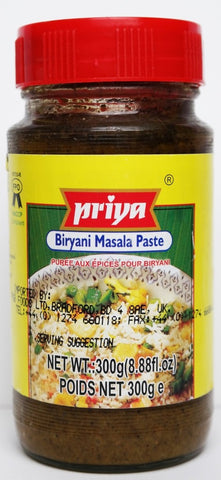 Priya Biryani Masala Paste 300 gm - Sabadda - Indian Online Grocery Store in UK