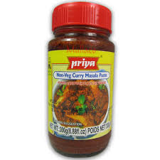 Priya Non Veg Curry Masala Paste 300 gm - Sabadda - Indian Online Grocery Store in UK
