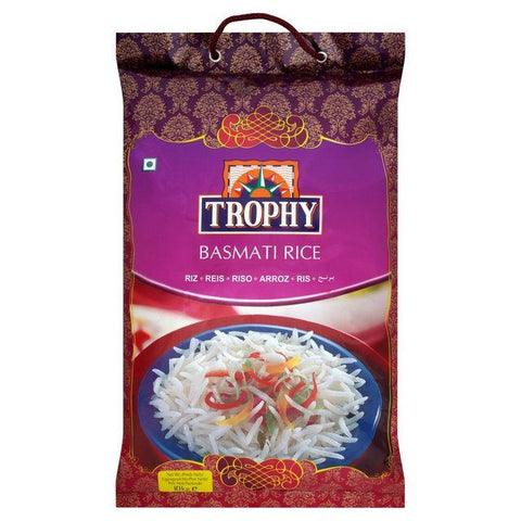 Trophy Basmati Rice 10 kg - Sabadda - Indian Online Grocery Store in UK