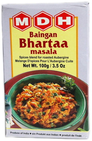 MDH Baingan Bhartaa Masala 100 gm - Sabadda - Indian Online Grocery Store in UK