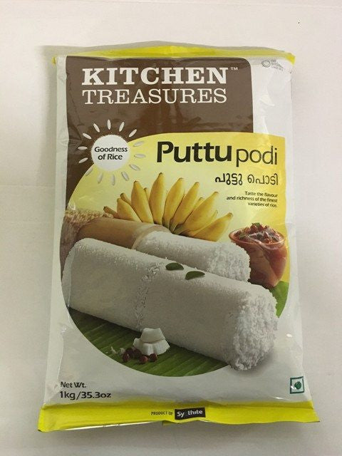 Kitchen Treasures Puttu Podi 1 kg - Sabadda - Indian Online Grocery Store in UK