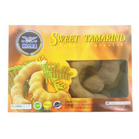 Heera Sweet Tamarind 400  gm - Sabadda - Indian Online Grocery Store in UK
