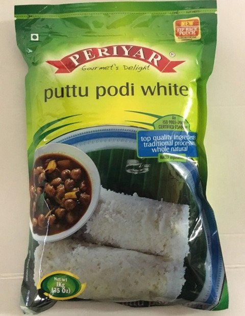 Daily Delight Puttupodi White 1 kg - Sabadda - Indian Online Grocery Store in UK