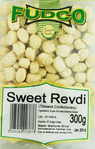 Fudco Sweet Revdi 300 gm - Sabadda - Indian Online Grocery Store in UK
