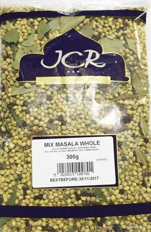 JCR Mix Masala Whole 300 gm - Sabadda - Indian Online Grocery Store in UK
