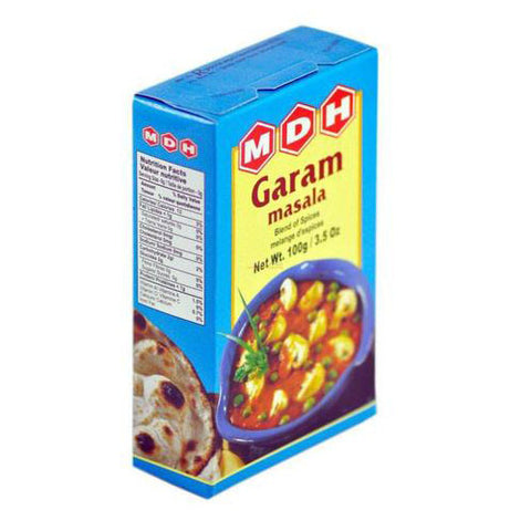 MDH Garam Masala 100 gm - Sabadda - Indian Online Grocery Store in UK