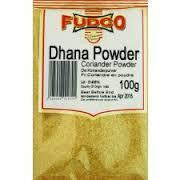 Fudco Dhana Powder Coriander Powder 100 gm - Sabadda - Indian Online Grocery Store in UK