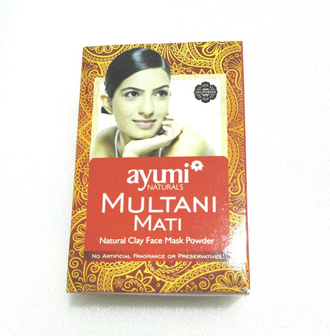Ayumi Natural Multani Mati 100 gm - Sabadda - Indian Online Grocery Store in UK