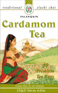 Palanquin Cardamom Tea 40 Sachets - Sabadda - Indian Online Grocery Store in UK