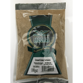 Heera Ground Green Cardamom Powder 100 gm Default Title - Sabadda - Indian Online Grocery Store in UK