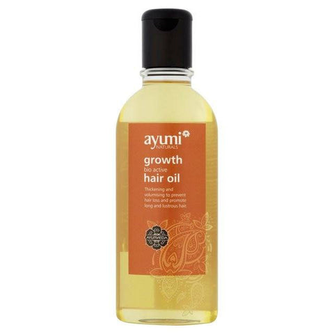 Ayumi Naturals Growth Bio Active Hair Oil 150 ml - Sabadda - Indian Online Grocery Store in UK