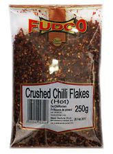 Fudco Crushed Chilli Flakes Hot 250 GM - Sabadda - Indian Online Grocery Store in UK