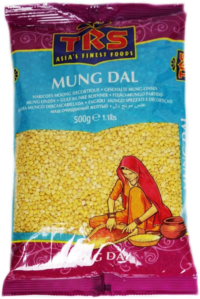 TRS Mung Dall 500 gm - Sabadda - Indian Online Grocery Store in UK