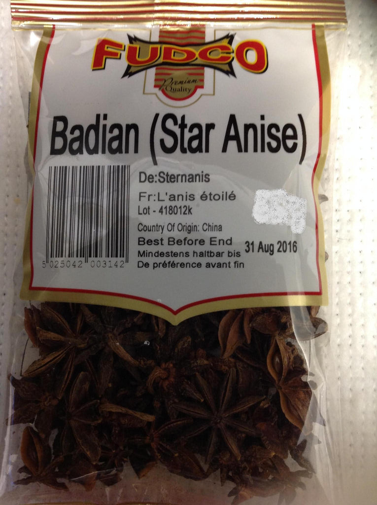 Fudco Badian Star Anise 150 gm - Sabadda - Indian Online Grocery Store in UK