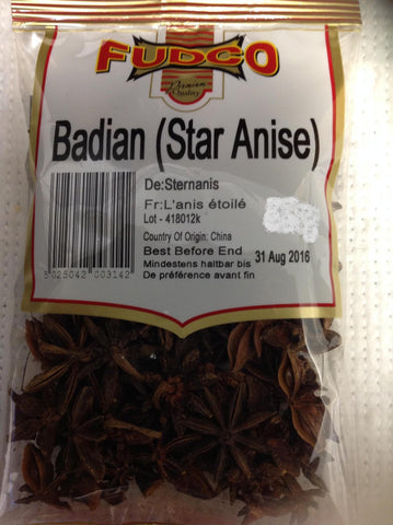 Fudco Badian Star Anise 150 gm Default Title - Sabadda - Indian Online Grocery Store in UK