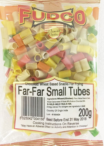 Far Far Small Tubes Coloured 200 gm - Sabadda - Indian Online Grocery Store in UK