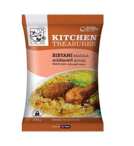 Kitchen Treasures Briyani Masala 100 gm - Sabadda - Indian Online Grocery Store in UK