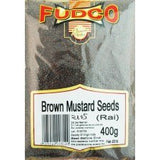 Fudco Brown Mustard Seeds 400 GM - Sabadda - Indian Online Grocery Store in UK