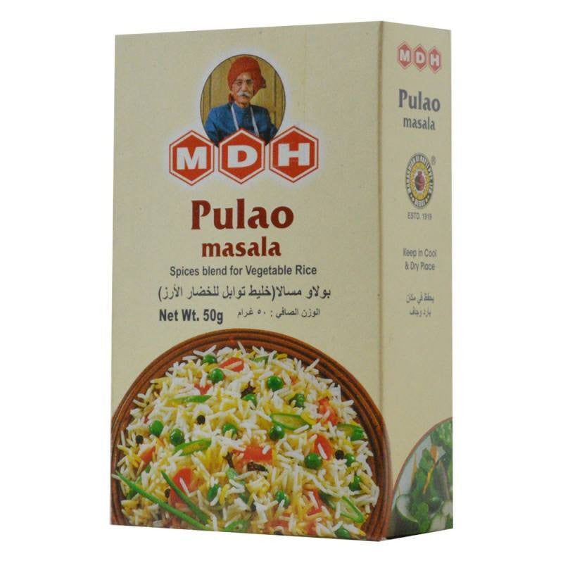 MDH Pulao Masala 50 gm - Sabadda - Indian Online Grocery Store in UK