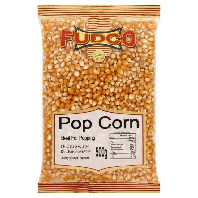 Fudco Pop Corn (Ideal for Popping) 500 gm - Sabadda - Indian Online Grocery Store in UK