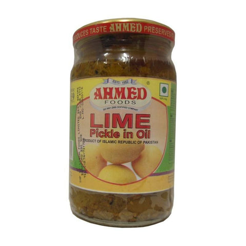 Ahmed Lime Pickle 330 gm Default Title - Sabadda - Indian Online Grocery Store in UK