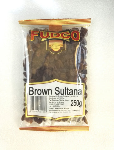 Fudco Brown Sultana 250 GM - Sabadda - Indian Online Grocery Store in UK