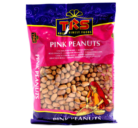 TRS Pink Peanuts 375 gm - Sabadda - Indian Online Grocery Store in UK