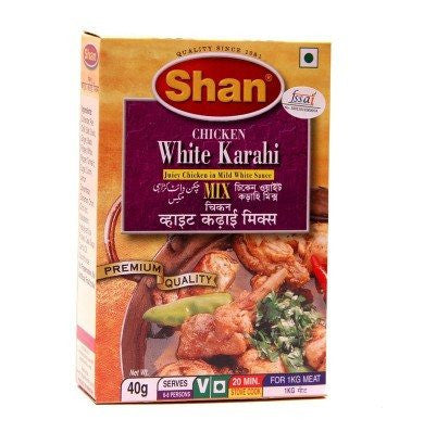 Shan Chicken White Korma 40 gm - Sabadda - Indian Online Grocery Store in UK