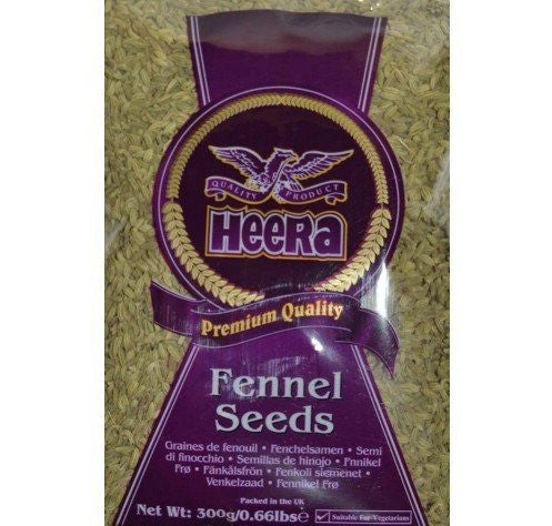 Heera Fennel Seeds 100gm Default Title - Sabadda - Indian Online Grocery Store in UK