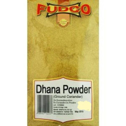 Fudco Dhana Powder Ground Coriander 400 gm - Sabadda - Indian Online Grocery Store in UK