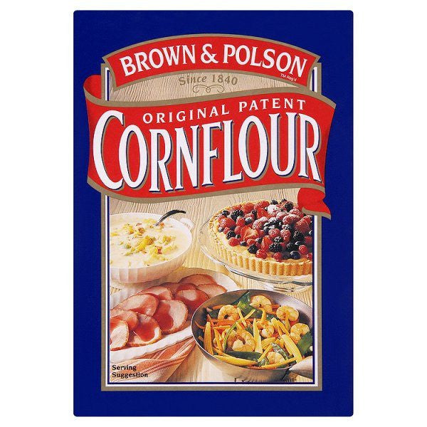 Brown & Polson Corn Flour 250 gm Default Title - Sabadda - Indian Online Grocery Store in UK