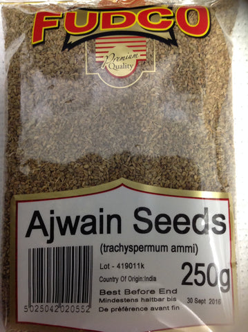 Fudco Ajwain Seeds 250 gm - Sabadda - Indian Online Grocery Store in UK