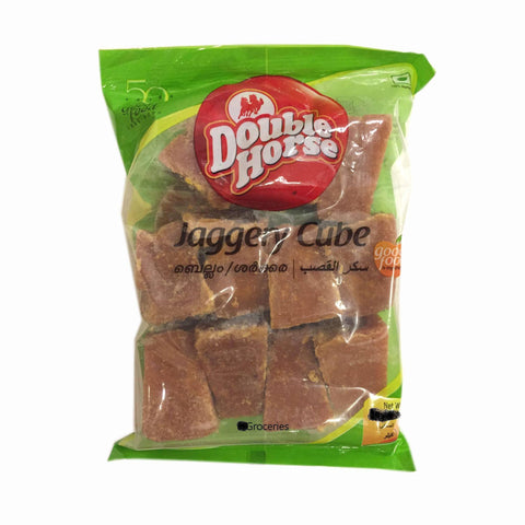 Double Horse Jaggery Cube 500 GM Default Title - Sabadda - Indian Online Grocery Store in UK
