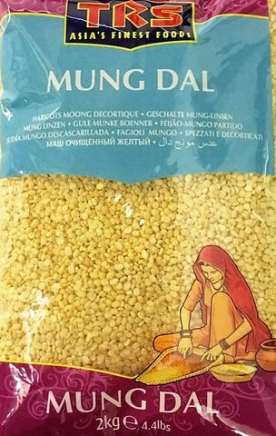 TRS Mung Dall 2kg - Sabadda - Indian Online Grocery Store in UK