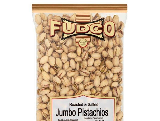Fudco Roasted and Salted Jumbo Pistachios 700 gm - Sabadda - Indian Online Grocery Store in UK