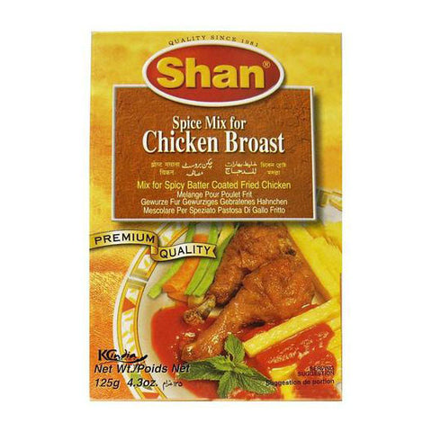 Shan Spice Mix For Chicken Broast 125 gm - Sabadda - Indian Online Grocery Store in UK