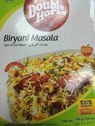 Double Horse Biryani Masala 200 gm - Sabadda - Indian Online Grocery Store in UK