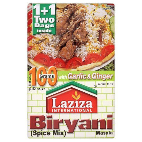 Laziza Biryani Mix 100gm Default Title - Sabadda - Indian Online Grocery Store in UK